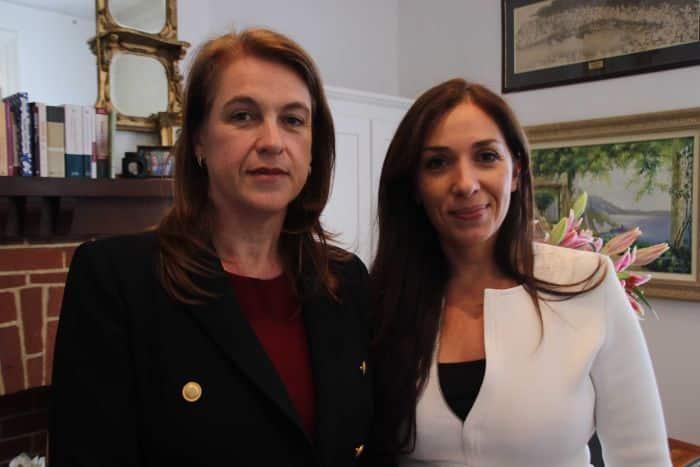Photo: Teresa Farmer (L), Maria Loukas (R)